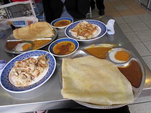 Mamak breakfast