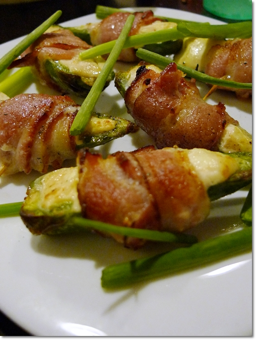 Bacon Wrapped Jalapeno with Cheese