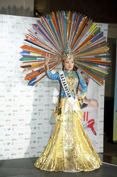 National Costume of Miss Kazakhstan