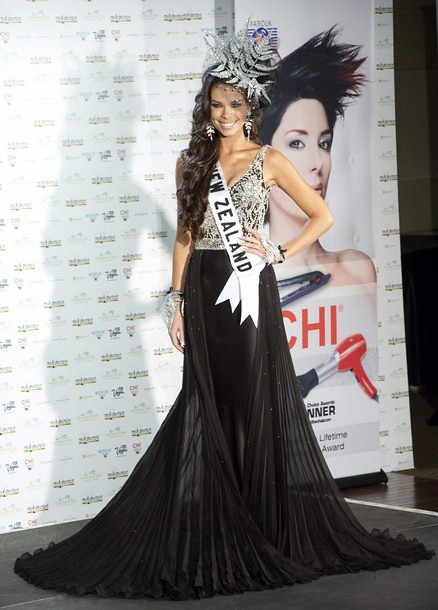 National Costume of Miss New Zealand