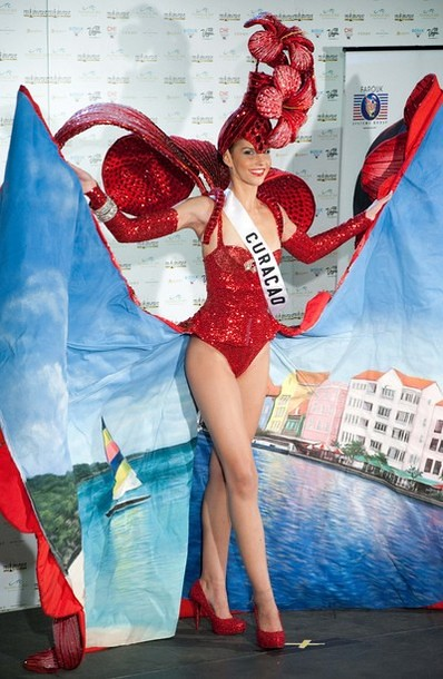 National Costume of Miss Curacao
