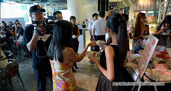 Bloggers getting interviewed