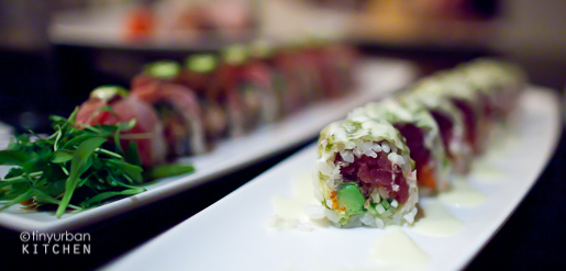 Oishii Boston White Tiger Maki
