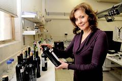 Quini, la mujer que más sabe de vino