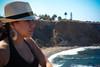 0004_SuzieTest (katNovoa) Tags: lighthouse southbay beachhat pointvincent shortblackdress suzielara