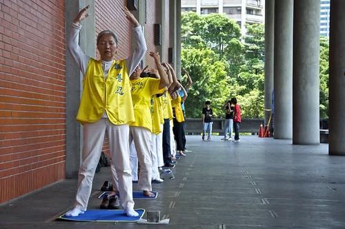 Yoga a mediodía