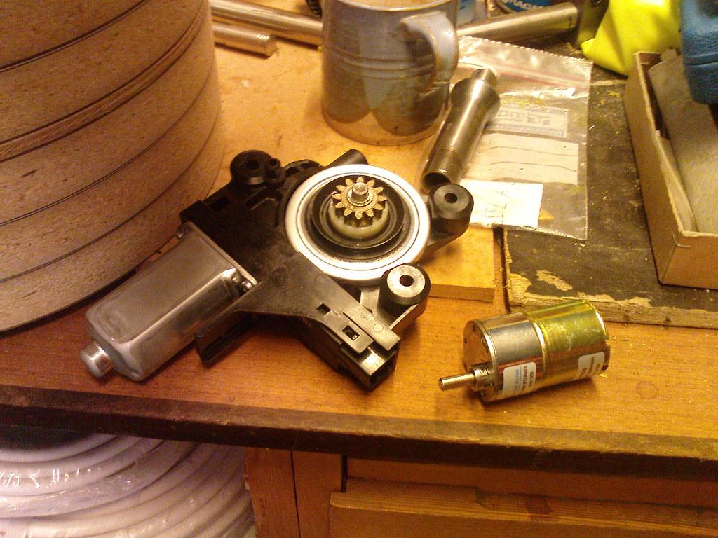 Drum carder - prototype