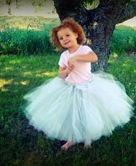 Mid-Length Ballet Style Tutu (PrincessDoodleBeans Boutique) Tags: wedding fun handmade skirt full boutique etsy bridal tulle tutu tutus poofy princessdoodlebeans