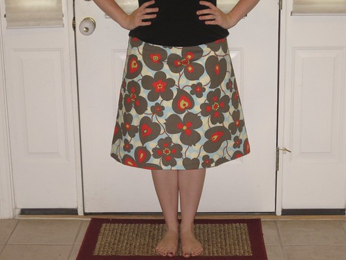 My first skirt!