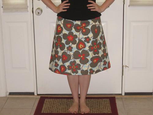 My first skirt!