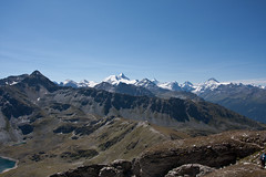 View from the Illhorn (2716 m) Photo
