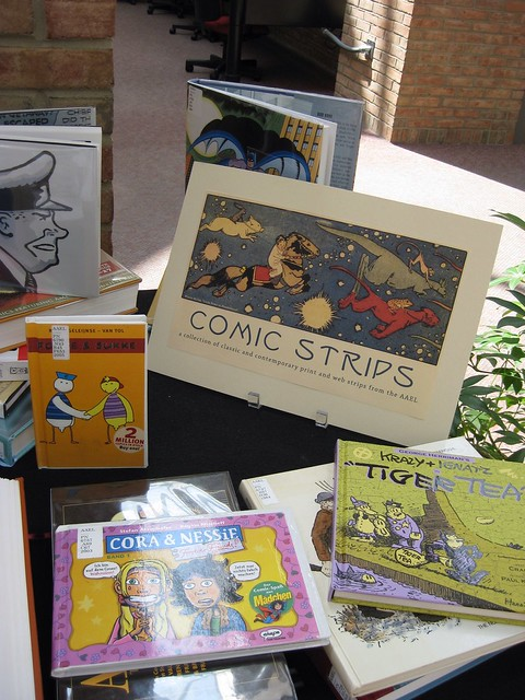 Comic Strip Mini-Exhibit at AAEL
