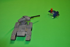 Lego Halo Contest (Vengeance of Lego) Tags: blue team tank lego ghost contest halo scorpion vs reb