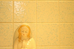 mother mary (laurenwinterdotco) Tags: roses sun vintage soft lace feminine pastel sheer ghosting mothermary russiannestingdolls amateurphotography canonxsrebel bloomingleopold