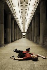 Lost (vladLitvak) Tags: people berlin germany lost photographer nikond70 symmetric tamron1750