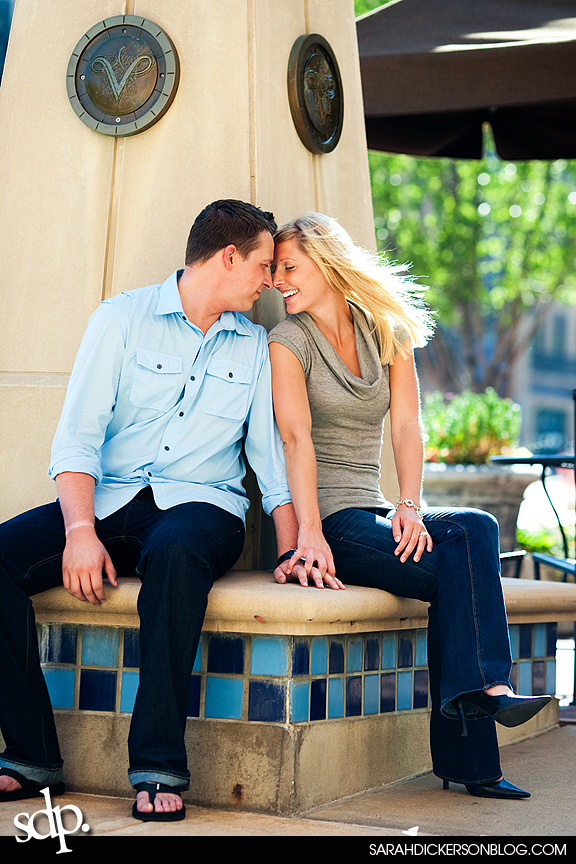 Country Club Plaza, Kansas City engagement session
