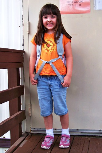 Julia's First Day of First Grade