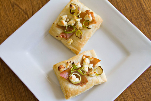 Leek and Prosciutto Puff Pastries - 6