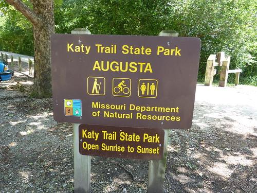 Katy Trail, Augusta Mo