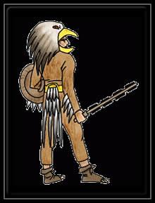 Guerrier Aigle Aztèque