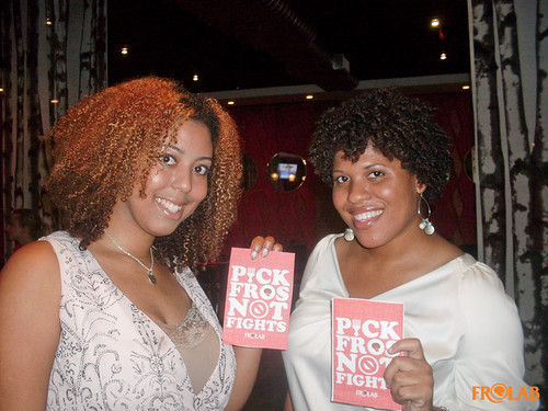 Pick Fros Not Fights!