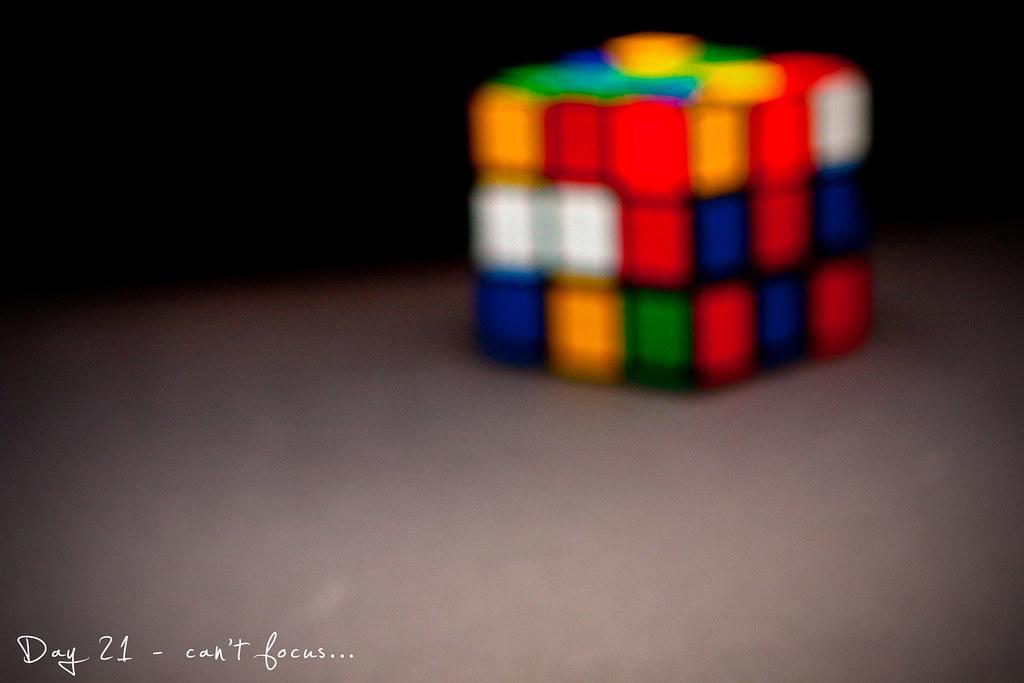 Project 365, Day 21, 021/365, bokeh, cube, Strobist, pocketwizard
