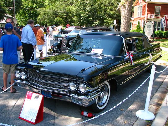 classic illinois geneva antique exotic limousine carshow 2010genevaconcoursdelegance 1962cadillacfleetwood