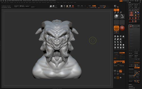 Download gratruito do ZBrush - Allan Brito