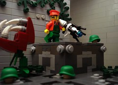 Thank you Mario! (Profound Whatever) Tags: game video lego mashup portal supermariobros