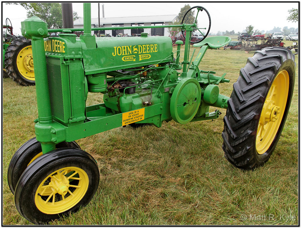 "1936 John Deere General Purpose Model ""A"""