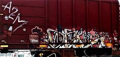 Orgasmmm (mightyquinninwky) Tags: railroad train graffiti mt orgasm tag graf tracks railway tags tagged railcar rails boxcar graff graphiti freight trainart rollingstock paintedtrain fr8 railart spraypaintart reflectivetape freightcar movingart a2m paintedsteel boxcarart freightart taggedboxcar paintedboxcar paintedrailcar taggedrailcar orgasmmm trainsformyspacestation