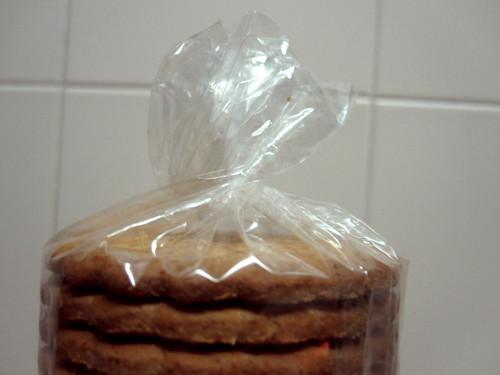 paquete de galletas con cierre fácil