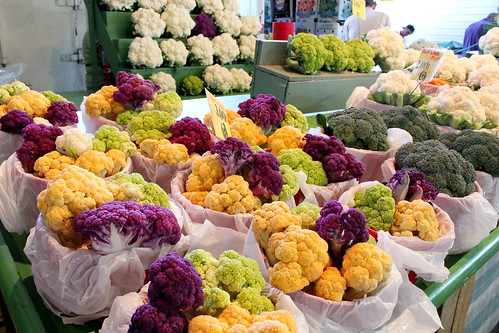 i didn't even know cauliflower came in different shades