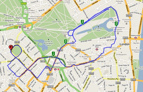 london cyclemeter loop