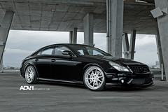 The ADV.1 Mercedes CLS55 AMG with new Track Spec ADV10's (ADV1WHEELS) Tags: mercedes wheels amg cls55 adv1 steplip adv10