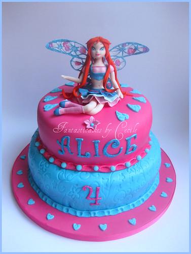 Torta Blomm Winx Believix / Bloom Cake Winx Believix