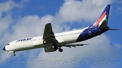MALEV Boeing 737-800 HA-LOU Budapest Airport (16:9) (KristofCs) Tags: hungary budapest flight august landing bud boeing approach magyar 169 halou hungarian ferihegy b737 malev b738 31r lhbp patakpart