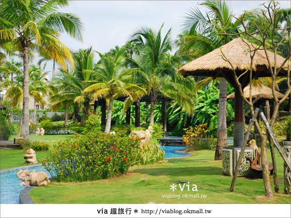 【台南住宿】我在台南遇見峇里島‧桂田酒店2