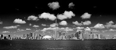 Toronto Skyline (dzpixel) Tags: old light red lake toronto ontario black clouds canon island eos rebel bay boat town mtl empty perspective down ciel westmount r lucky lookatme ef centreville darkclouds lifejackets 2010 baie canda shuter 550d contreplongé t2i imonaboat imonahorse eosrebelt2i kiss4x
