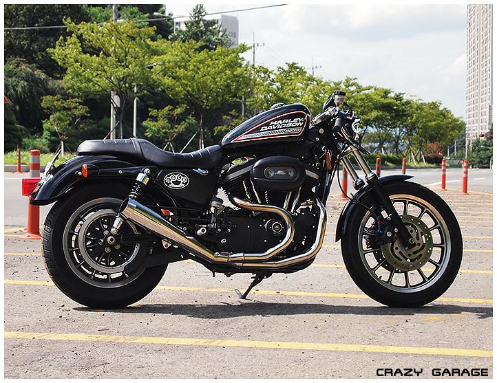 Crazy Garage Harley Cafe Racer
