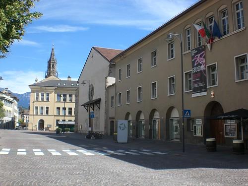 Ansicht des Bozner Konservatoriums als Ausrichtungsort des Busoni-Klavierwettbewerbs
