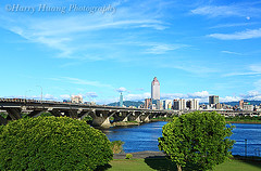 2_MG_3283-Taipei City, Taiwan -------- (HarryTaiwan) Tags: city building river taipei                    harryhuang  hgf78354ms35hinetnet
