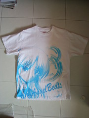 Angel Beats! T-shirt Angel White M () Tags: angel key visualarts tshirt merchandise tachibana kanade  tenshi   angelbeats