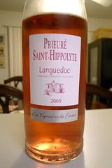 """2009 Les Vignerons de Fontès """"Prieuré Saint-Hippolyte"""" Languedoc Rosé"""