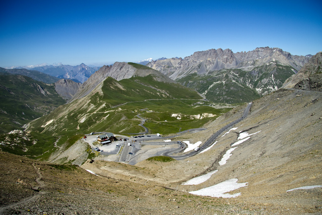 Col du Galibier, North side