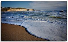 Freshwater Bay - The Short Shot (Ian Johnston LRPS) Tags: sea water bay sand nikon rocks surf waves cliffs tokina wash shore foam 2011 1116 d80