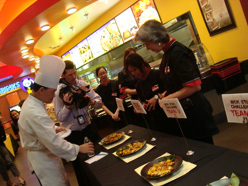 Chef Kao Judging
