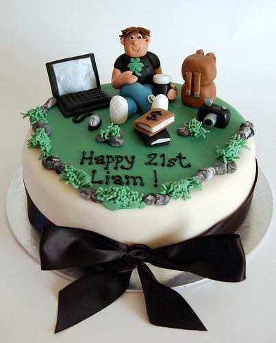 Beautiful Birthday Cakes Student S 21st Cake