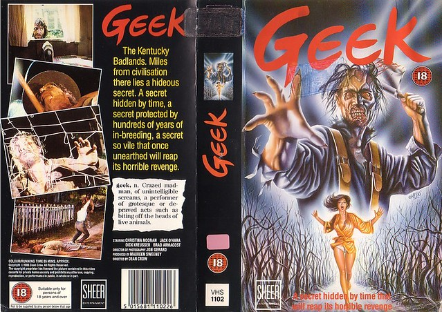 Geek (VHS Box Art)