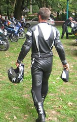 biker februar (9) (skintightj2009) Tags: man male guy leather boots helmet suit biker racer dainese alpinestars